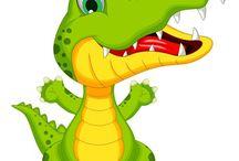 CROCODILE STITCH and crocodiles