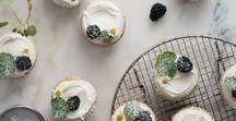 REZEPTE // CUPCAKES & BROWNIES / Cupcakes, Muffins, Brownies & Co sind Futter für die Seele. Ob fruchtig, nussig oder mit Schokolade, hier findest du die besten Rezepte für süße Kleinigkeiten