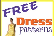 Dress patterns and tutorials / Free dress patterns.  Free sewing patterns for dresses.  From mini to maxi and everything in between.  Find exactly what you want from all of these free dress patterns and tutorials. / by Deby at So Sew Easy