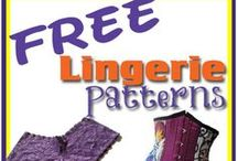 Sewing undies / Why buy lingerie when you can sew your own? Here you will find free undies patterns, lingerie sewing tutorials, camisole patterns, free bra making patterns or swimsuit patterns and bikini tutorials.