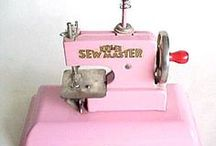 Vintage Machines & Notions / Skip through memory lane but don't trip over that deluxe 1903 Singer sewing machine.