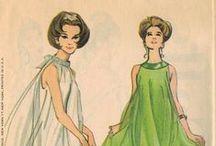 Vintage Sewing Patterns / Vintage patterns for inspiration