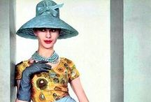 Historical Beauties Mid 20th Century / Fashion from the mid to late 20th century for inspiration.
