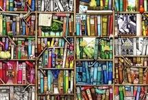 .estantes / Inspirações de estantes de livros, decorações com livros e como acomodar seus livros em seu quarto.