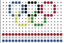 Kralenplanken en strijkkralen KBW 2013 kinderboekenweek sport en spel  / Strijkkralen en kralenplanken voor de kinderboekenweek 2013 over sport en spel klaar voor de start.