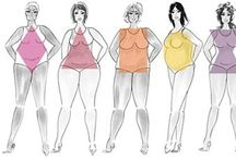 Body Type & How To Sew For It / Learn about your body shape, what shape you are and how to maximize it in all its glory.