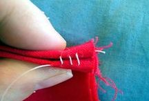 Handstitching / Hand stitching tips, hand stitching tutorials, new stitches you might not be familiar with and old favorite stitching techniques that are so useful.  / by Deby at So Sew Easy