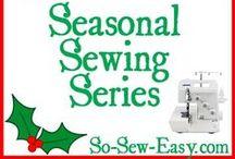 Seasonal Sewing Series