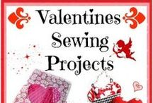 Valentines Sewing Ideas / If you want to sew something for Valentines Day this is the board for you.  Lots of Valentines Day sewing ideas, projects and inspiration. Free patterns and tutorials for Valentines Day gifts or home decor, or just for fun sewing. / by Deby at So Sew Easy