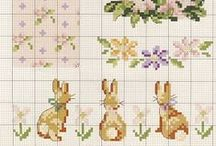 Cross stitch Easter and Spring / by Sara De Gasperis