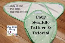 Sewing for kids / Sewing for babies is always such an exciting project! Here are tons of sewing for babies tutorials: crinkle sheet for babies, baby bib sewing patterns, how to sew ribbon toys for babies, baby blanket sewing tutorials and more cute and useful sewing for baby tutorials.  Baby projects only!