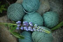 Natural dyed yarn and textiles