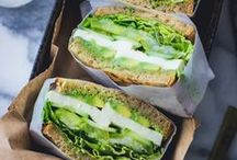 EASY LUNCH EATS / Easy ideas for having quick and #healthy lunches to make