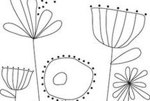 Embroidery designs, inspiration and tutorials