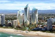 Jewel, Gold Coast, Queensland, Australia / Jewel is a proposal for a mixed use development containing a five star plus international hotel, serviced apartments, residential development and ancillary uses including restaurants, function facilities, conference centre and supporting resort amenities. www.dbidesign.com.au