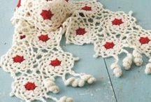 Crochet shawls and scarfs