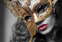 ✴ MASKS: SEXY•AND•MYSTERIOUS ✴ / By ♦SPARKLY GOLD♦