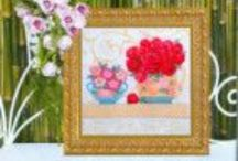 Cross Stitch quadros