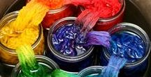 Yarn and fabric dyeing / Reactic dyes, acid dyes