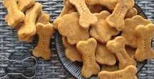 Homemade Dog Treats / A lot of store bought dog treats are nothing more than junk food, ingredients our dogs should not be eating. This board is filled with tons of easy homemade dog treat recipes, so you know what quality ingredients you're feeding your pup.