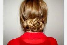 Aniston's hairdresser + my hair (I wish)