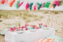 Open-Air-Hochzeit / Ideen für Trauung und Feier im Freien. #Wedding #Zeremonie #Decoration #Deko
