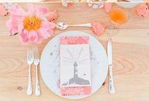 Hochzeitsmottos - Farbkonzepte / Der roten Faden für den großen Tag: ein Hochzeitsthema. #Wedding #Colour