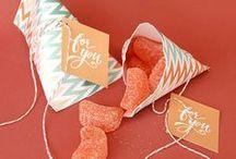 Give-aways zur Hochzeit / Zum Mitnehmen für die Gäste: Platzkarten, kleine Geschenke & Co. #Wedding