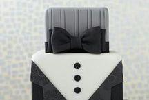 Groom's Cake / Im Trend: eine Special-Torte nur für den Bräutigam!
