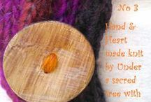 Hand & Heart made by Under a sacred tree~Christiana / www.christianakanaki.com