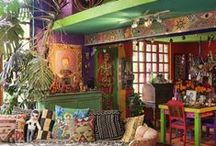 Inspiration Home / ethnic, shabby and colors