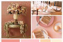 Salmon Color Wedding