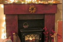 DIY - FIREPLACE MANTLES / by Jocelyn Gouthro
