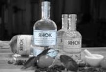 Rhok Gin / Rhok Gin is a New Western Gin, micro-distilled and bottled by hand in exceptionally small batches. We think you'll agree that Rhok Gin is a truly inspired gin that departs the beaten path of mass produced spirits.