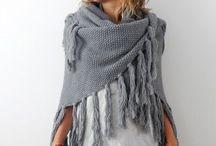 Haken: poncho's, omslagdoeken, sjaals