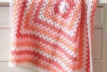 Haken: Granny square/stripe