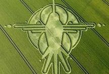 Crop Circles / Crop circles are so mysterious. How were they made and who made them? Aliens? We are not alone! There are many beings from other universes & galaxies who are more advanced than us! Do your research... / by Ivonne Teoh