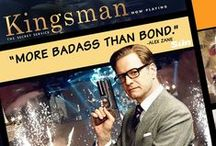 Colin Firth | Kingsman: Spy / Saw this movie! Great fun & lots of action! Colin Firth is quite the hero now! A different kind of `hero' from Mr. Darcy, much more kicking a**!  The new guy Taron is cute too! LOL