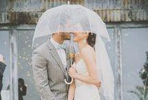 Rainy Day Wedding / Ideen für  gelungene Hochzeiten an Regentagen!
