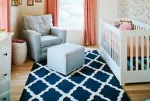 Baby M Nursery / Nursery ideas, nursery color schemes, nursery inspiration, nursery decor, new baby, parenting and family, DIY nursery, and other tips and ideas for a new nursery.
