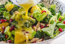 Salater/salads + dressing
