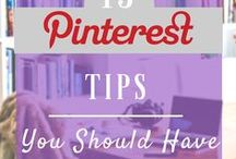 Pinterest / Tips and what you need to know about Pinterest!