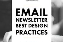 Email Marketing / Inspiration: emails, newsletters, email marketing tips