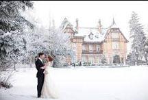 Wonderful Winter Wedding / Der schönste Tag im Leben mitten im Schnee.  #Wedding #Winter #Seasons #Hochzeiten #Winter Wedding #Snow #Schnee