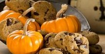 Autumn Cookies & Sweets / Autumn is a beautiful time of year to enjoy the all that   harvest time brings.  Here you will find a melange of spicy, mellow, sweet and warming recipes.  Brew a pot of hot coffee and tuck into a recipe or two.