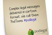 PodToons / Who said legal messages needed to be boring?
