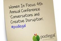 Women In Focus 4th Annual Conference 'Conversations & Creative Disruption' / At this by invitation only conference taking place at Port Douglas in September, 2013 leading Australian business women will tackle the topics of crowdsourcing to creative collaboration and social disruption; to maintaining the mindset that bounces curiously forward with courage and optimism. Find out more at https://www.womeninfocus.com.au/docs/DOC-2440