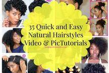 Natural Hair Care✂ / Natural Hair Care tips and DIY.