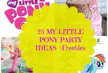 KIDS: Birthday Party Ideas / Throw your little the best party ever with these Fun inexpensive birthday party ideas.