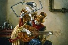 Michael Cheval Art